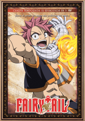 Fairy Tail – Temporada 4 (12 eps en 3 DVD)
