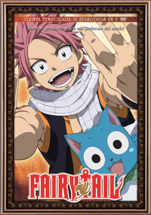 Fairy Tail – Temporada 5 (13 episodios en 3 DVD)