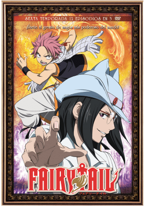 Fairy Tail – Temporada 6 (12 episodios en 3 DVD)