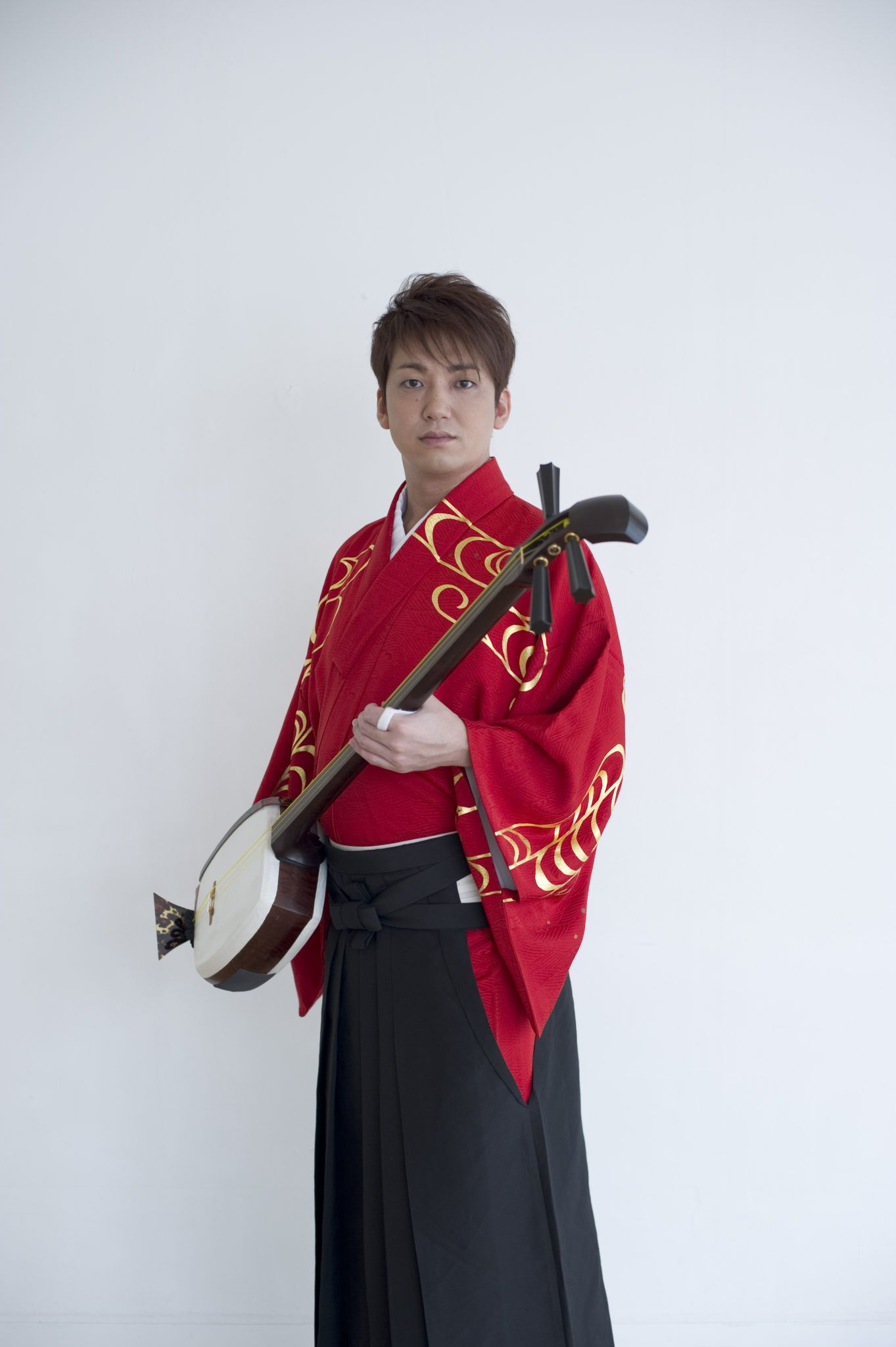 Kenichi Yoshida en Kimono
