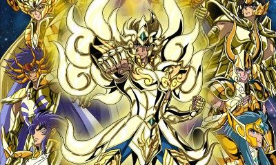 Soul Of Gold saint seiya