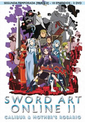 Sword Art Online II – Temporada 2, Parte 2 DVD