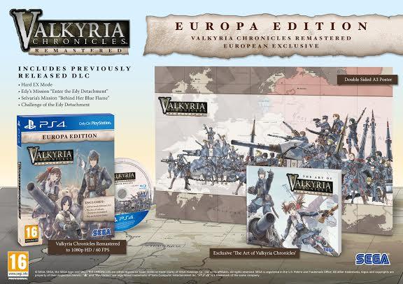 Valkyria Edition Europa Edition