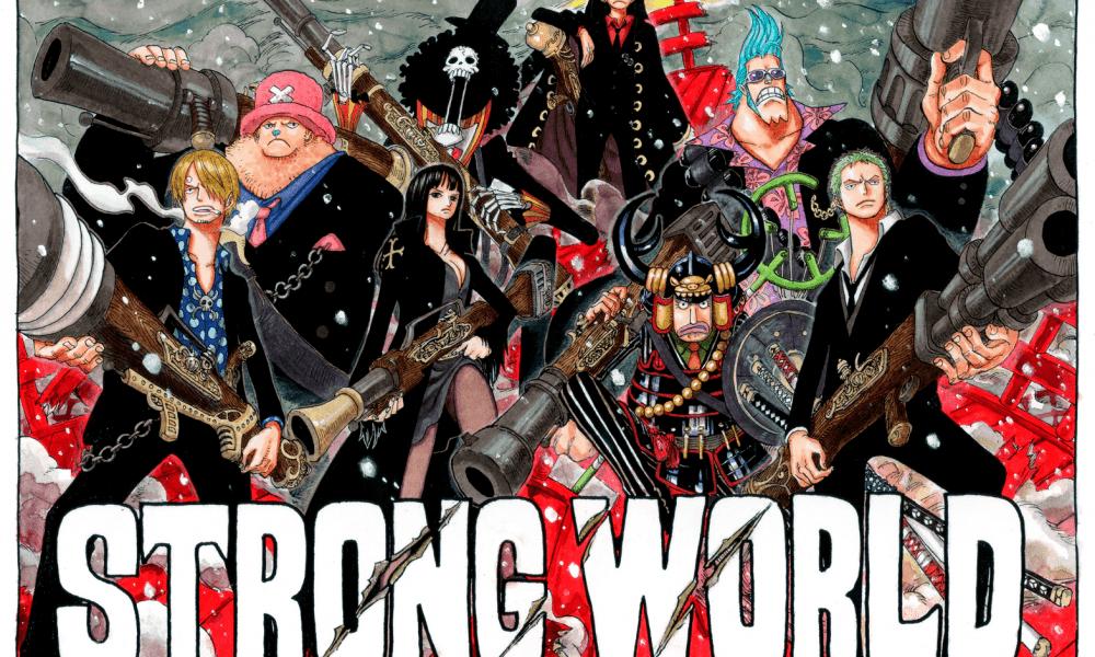 El manga de One Piece Strong World llegará en abril