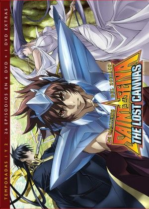 Saint Seiya: The Lost Canvas Temp. 1 y 2 DVD