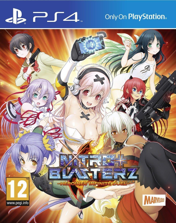 Nitroplus Blasterz cover