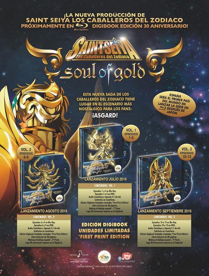 Saint Seiya Soul of Gold anime