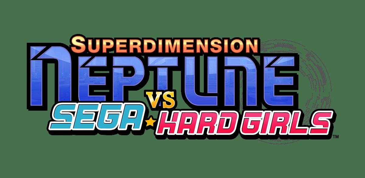 Superdimension Neptune VS Sega Hard Girls logo