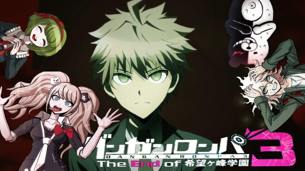 danganronpa 3 logo anime