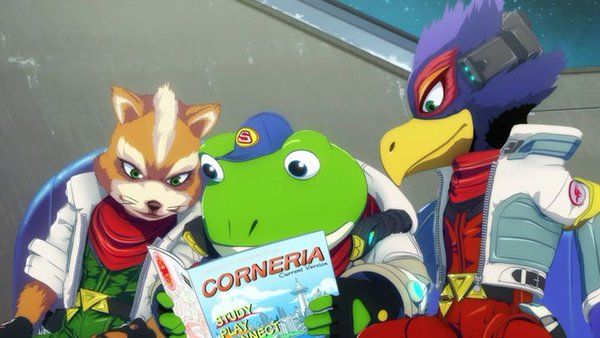 star fox zero corto animado
