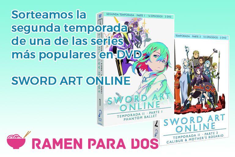 Concurso SAO 2 DVD