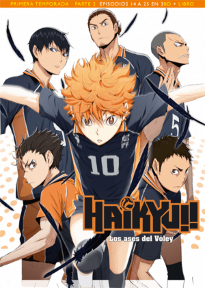 Haikyu!! Los Ases del Vóley Temporada 1 Parte 2 Edición Blu-ray Coleccionista