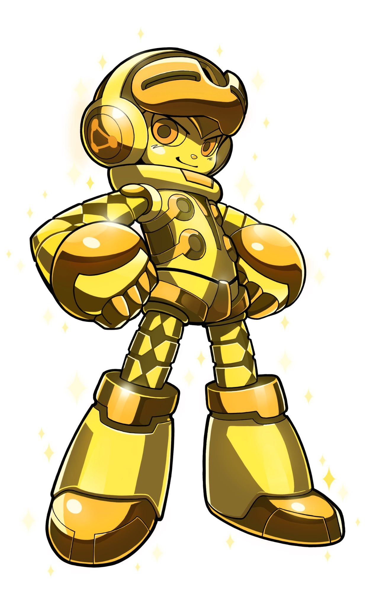 Mighty No 9 gold
