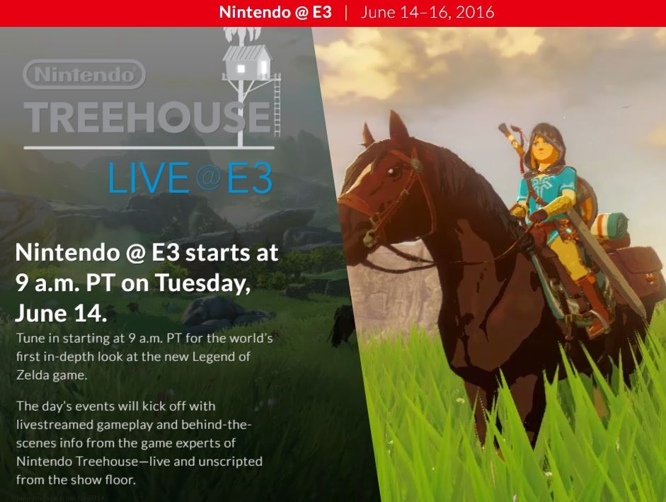Nintendo Treehouse Live