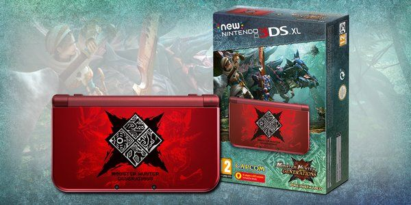monster hunter generation 3DS XL