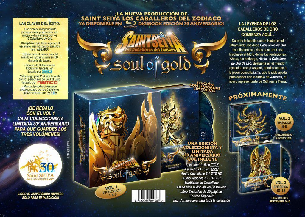 Saint Seiya Soul Gold 1