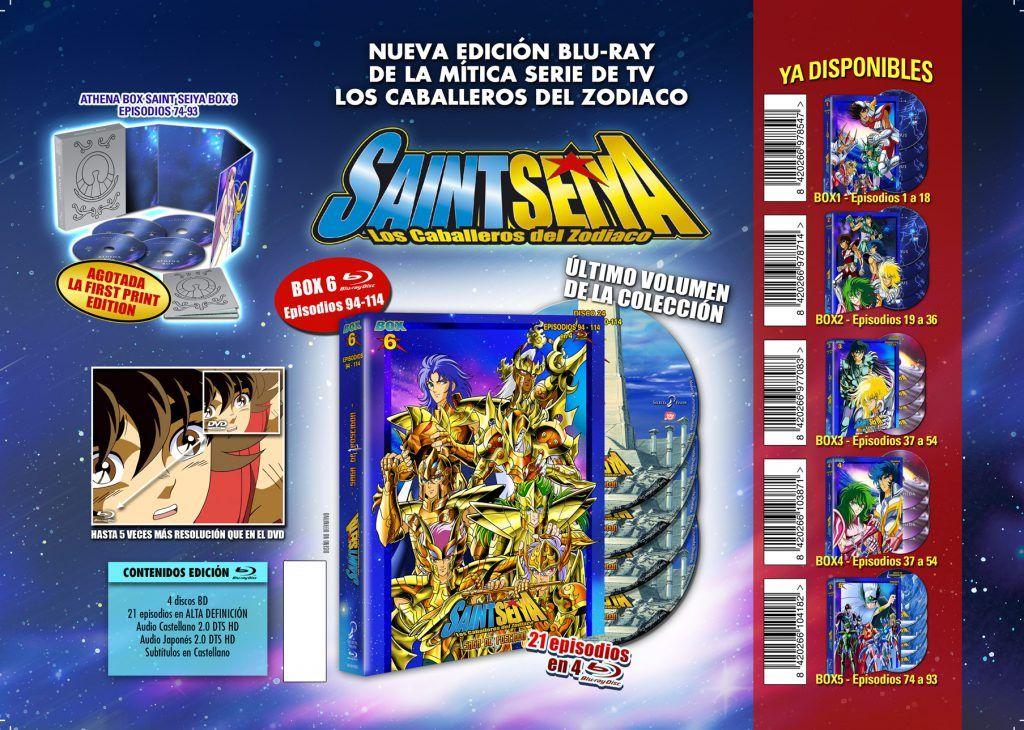 Saint Seiya Box 6