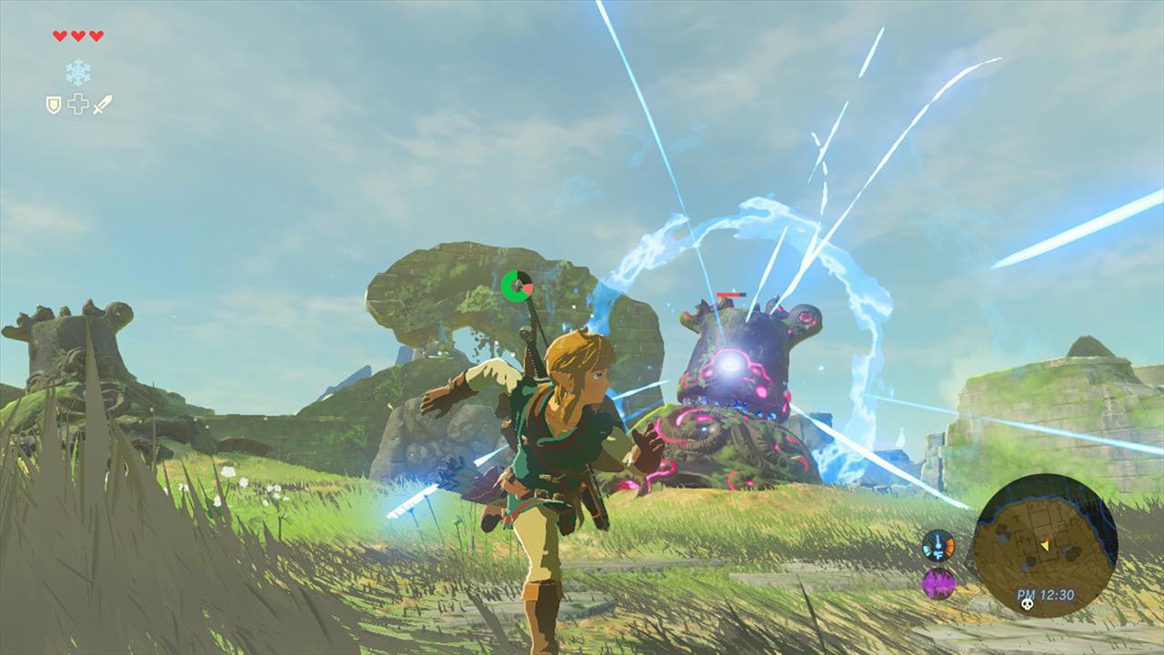The Legend of Zelda Breath of the Wild cap 2
