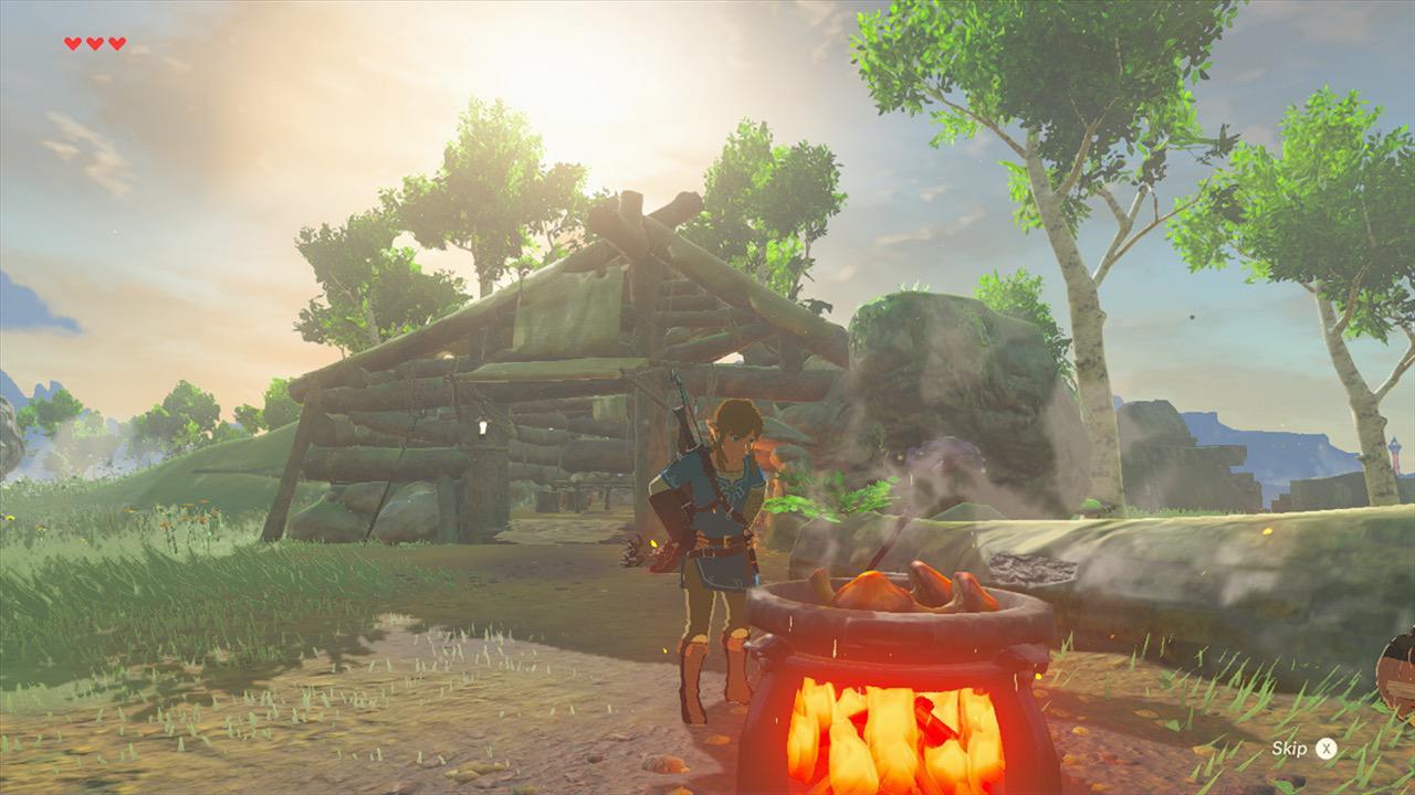 The Legend of Zelda Breath of the Wild cap 3