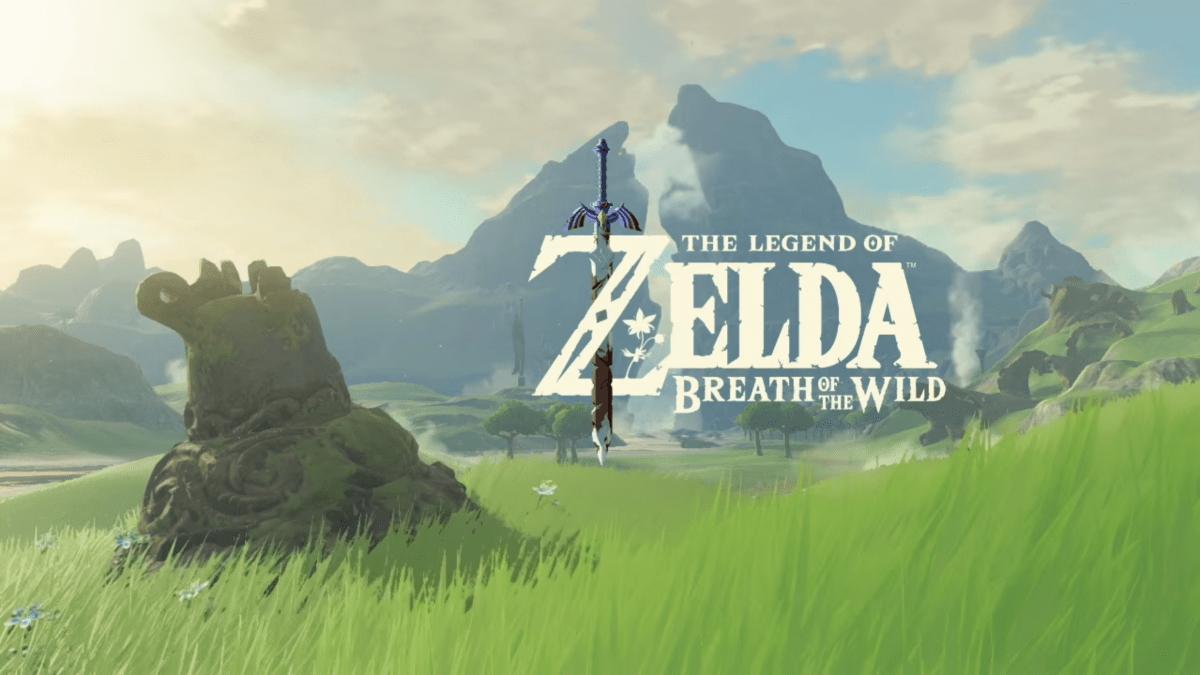 The Legend of Zelda Breath of the Wild logo
