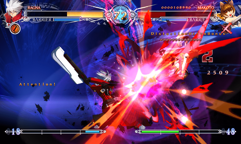 blazblue central fiction. capture 1