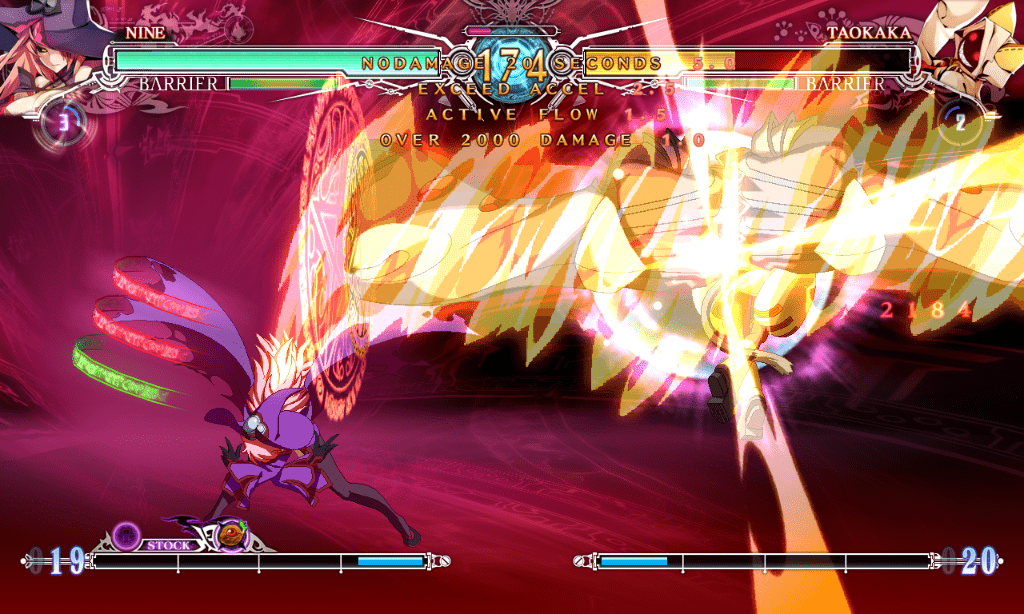 blazblue central fiction. capture 2