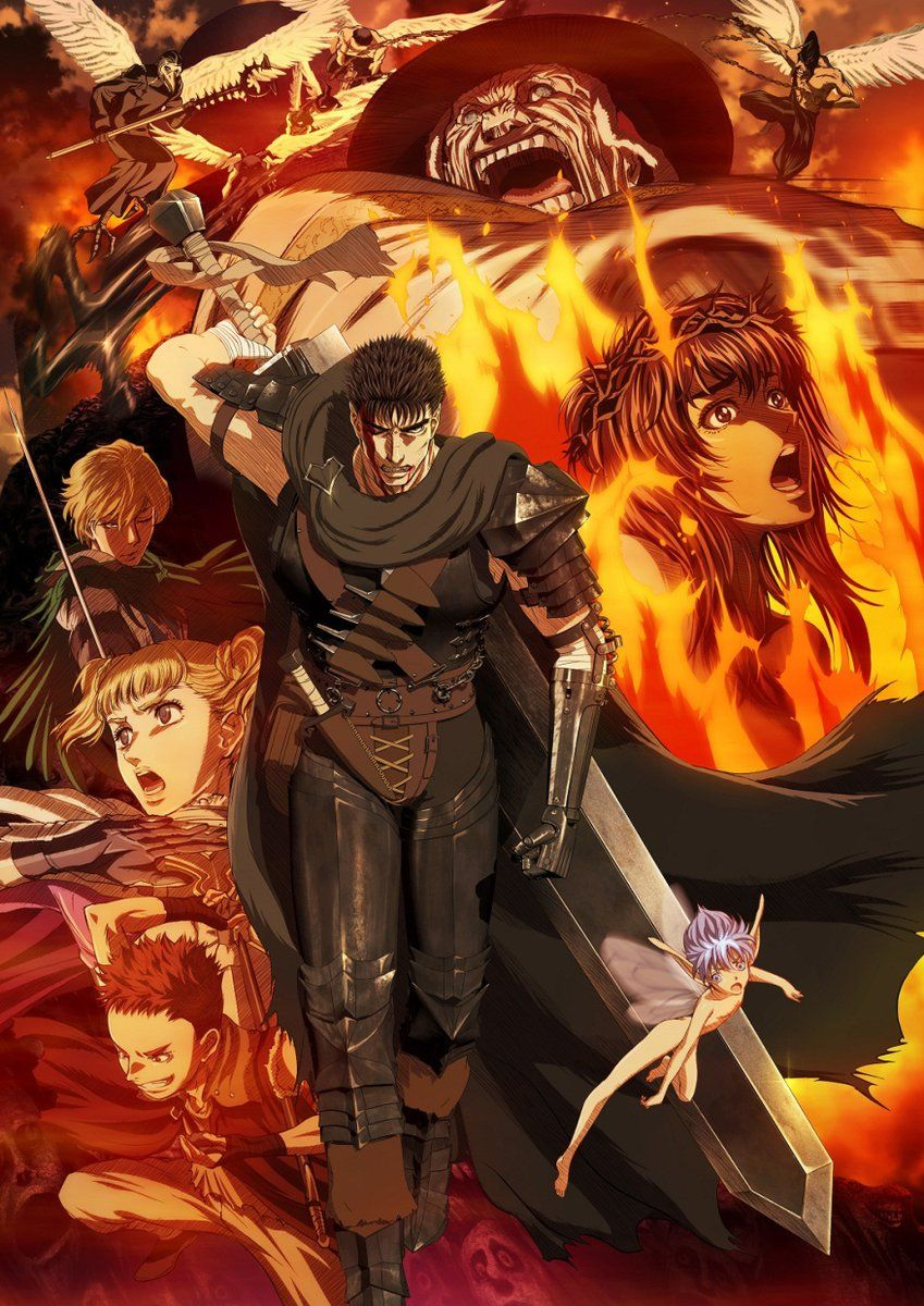 new key berserk anime