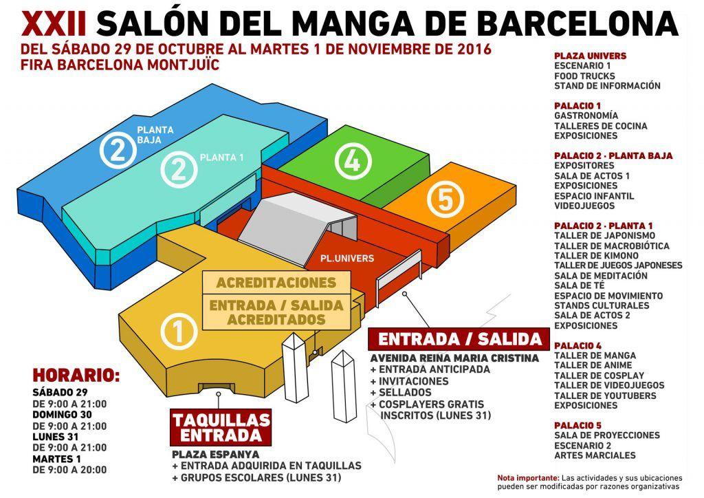 XXII Salon Manga Barcelona