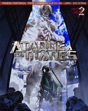 Ataque a los titanes – Temporada 1 #2 BD