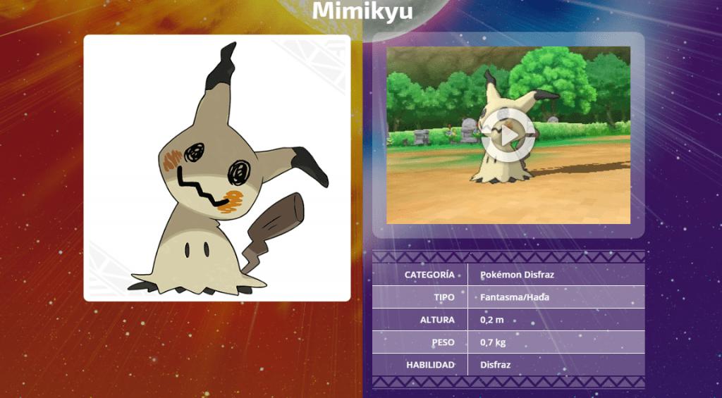 Pokémon Mimikyu