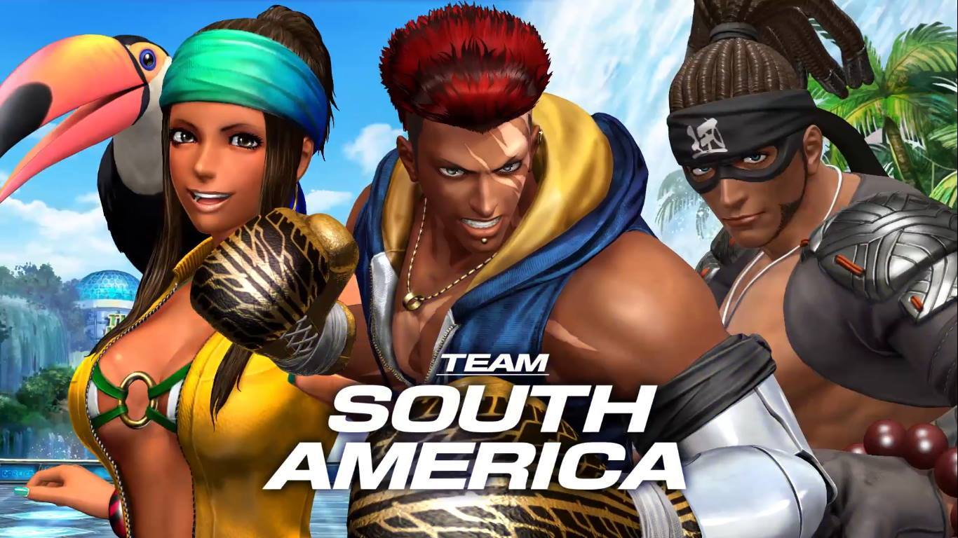 The King of Fighters XIV Sur america