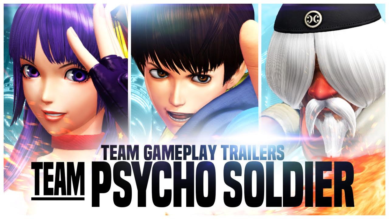 The King of Fighters XIV psycho soldier