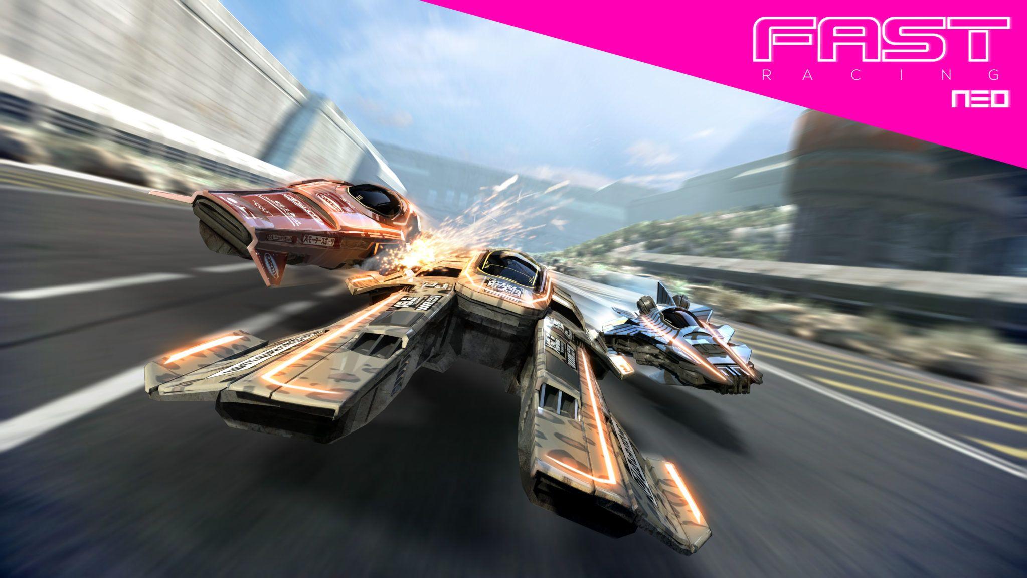 WiiU_Fast Racing Neo Keyshot