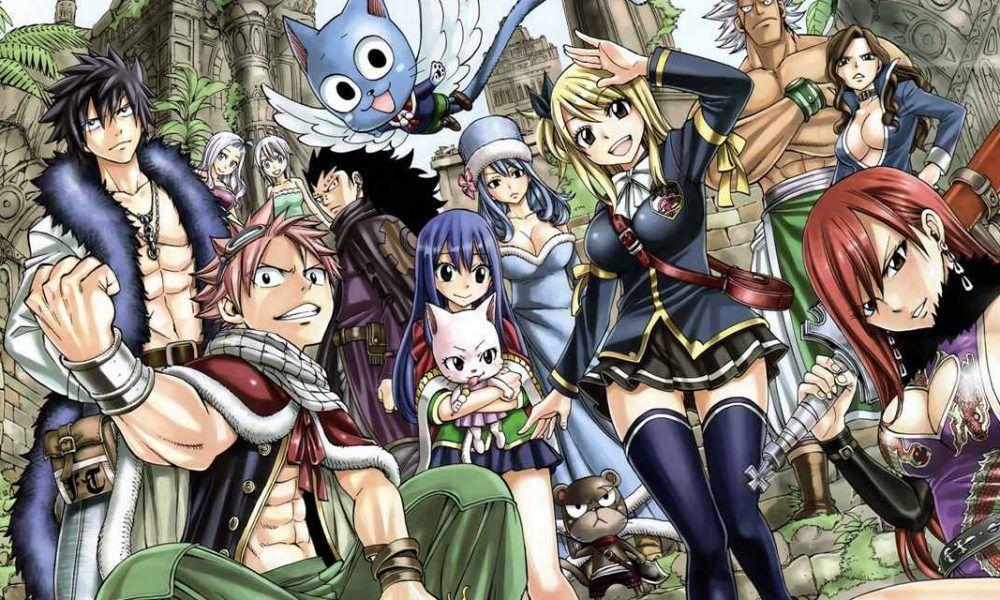 Resultado de imagen de fairy tail manga