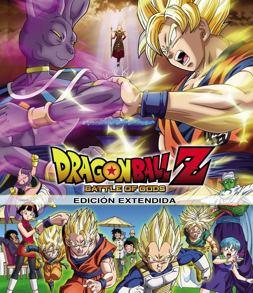 DRAGON BALL Z. Película 14: Battle of Gods Edición Extendida. Bluray