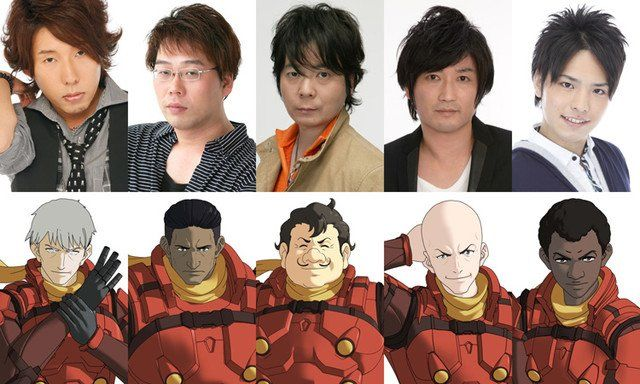 Cyborg 009 Call of Justice casting 2