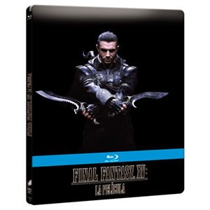 Kingsglaive Final Fantasy XV BD 2 discos