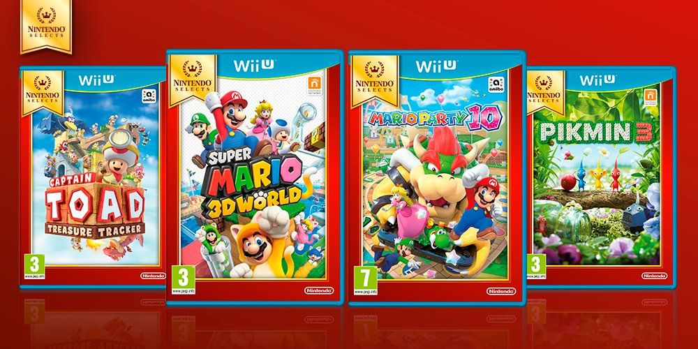 Nintendo Selects Wii U