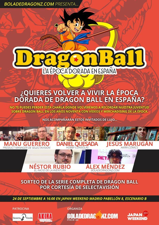 charla dragon ball JW Madrid