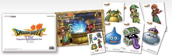 extras Dragon Quest VII 3ds