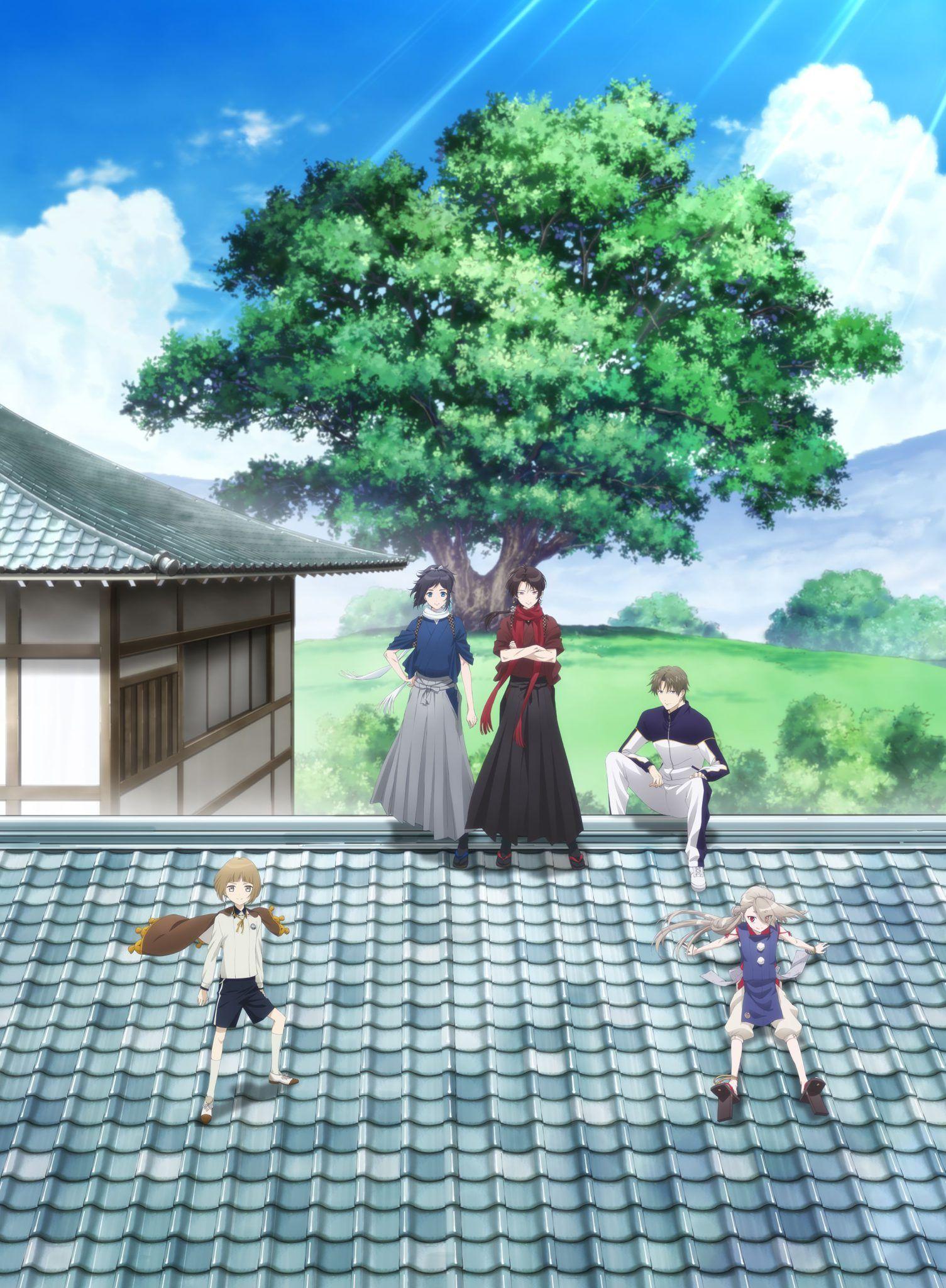 touken ranbu hanamaru key anime