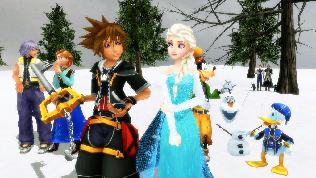 Así lucen las Llave Espada de Kingdom Hearts III exclusivas de reserva