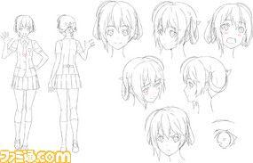 Kakuchou Shoujo Kei Trinary desing character