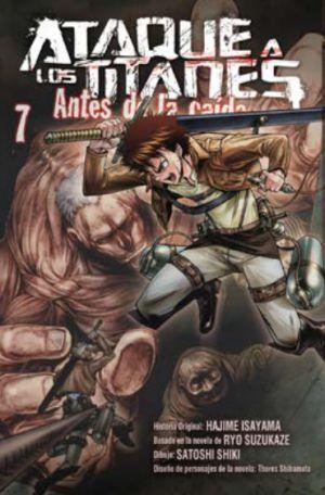 Ataque a los titanes: Antes de la caída #7