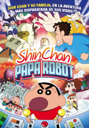 Shin Chan: Papá Robot DVD