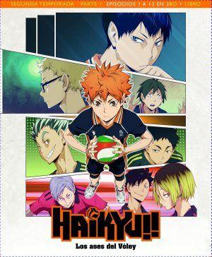 Haikyu!! Los Ases del Vóley Temporada 2 Parte 1 Edición Blu-ray Coleccionista