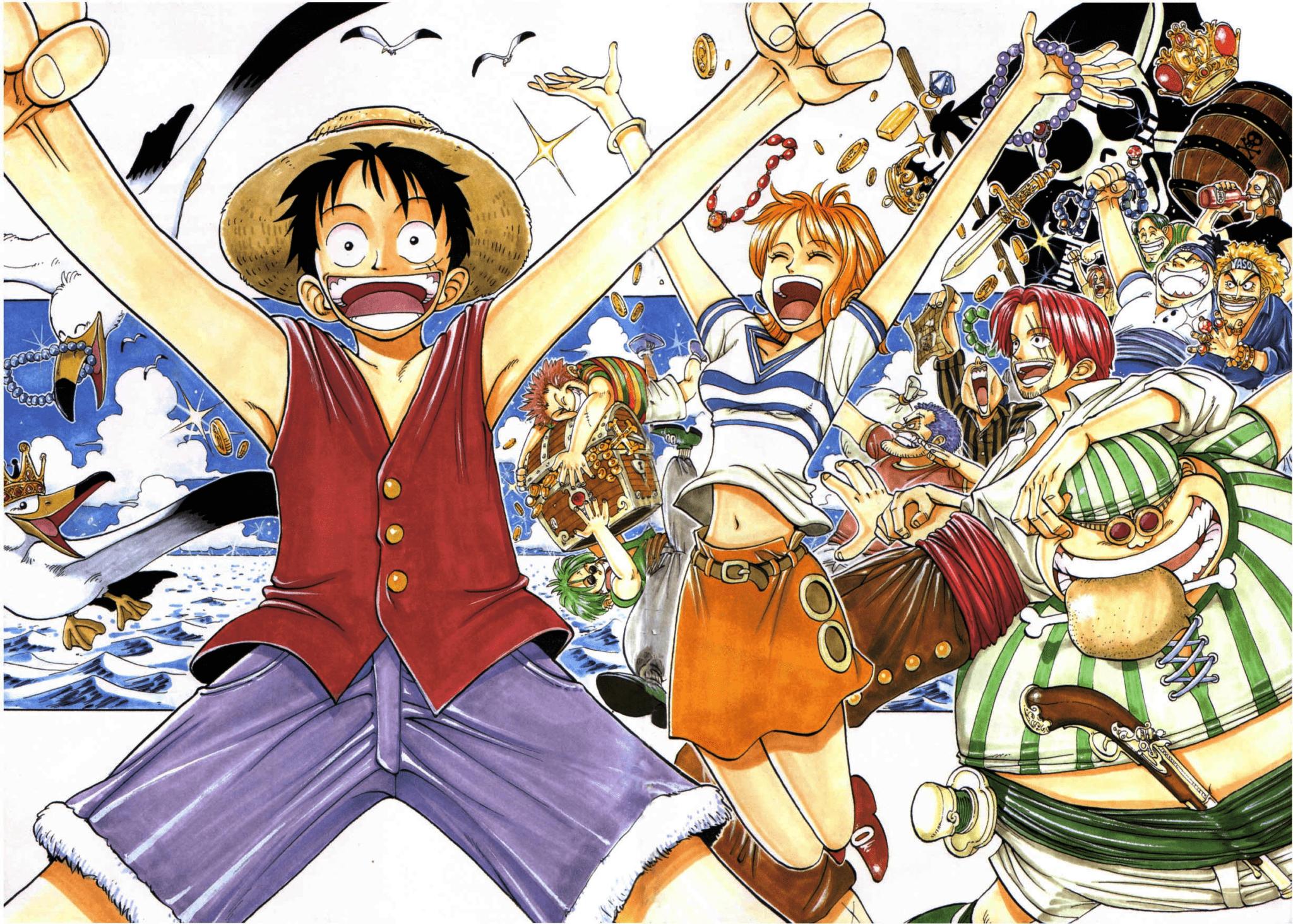 1 Piece Anime Characters : Manga más vendido en españa del al de noviembre
