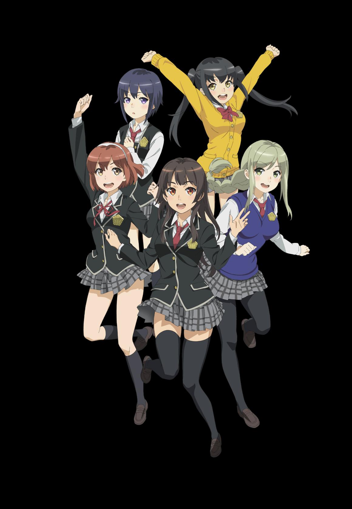 Schoolgirl Strikers ch 1