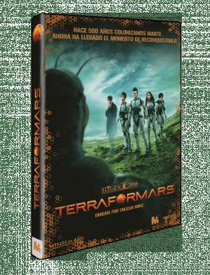 Terra Formars DVD (live-action)