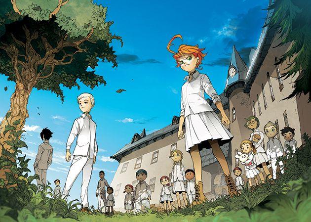 ¡Anime para The Promised Neverland! Neverland3-animemx